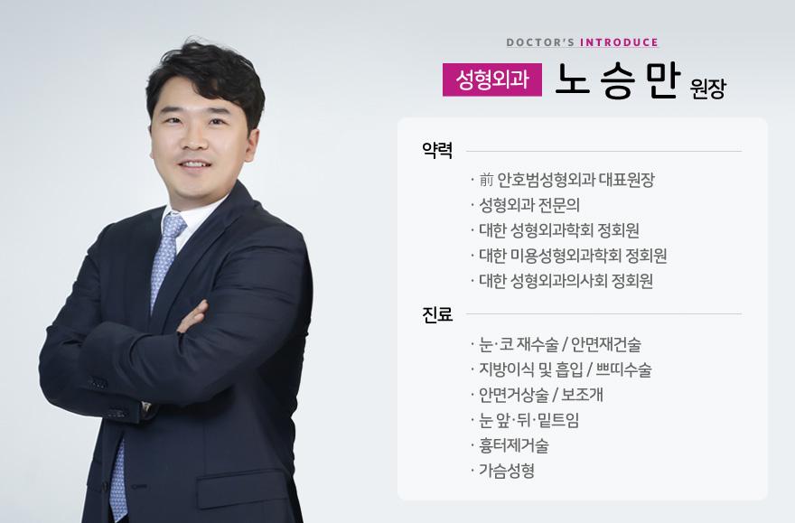 성형외과 전문의 노승만원장